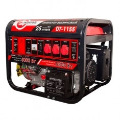 Gasoline generator max power 6 kW, rated power 5.5 kW, 13 Hp, 4 stroke, manual and power start, 96 kg INTERTOOL DT-1155: фото 4