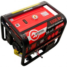 Gasoline generator max power 6 kW, rated power 5.5 kW, 13 Hp, 4 stroke, manual and power start, 96 kg INTERTOOL DT-1155: фото 5