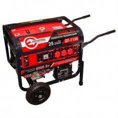 Gasoline generator max power 6 kW, rated power 5.5 kW, 13 Hp, 4 stroke, manual and power start, 96 kg INTERTOOL DT-1155: фото 6
