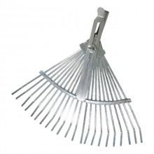 Wire-tooth rake, 22 teeth, adjustable working area INTERTOOL FT-3005