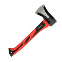 Splitting axe 1000 g, fiberglass handle INTERTOOL HT-0274