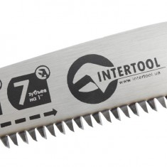 Folding hand saw, 150 mm, 7 tpi INTERTOOL HT-3142: фото 6
