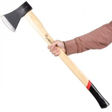 Axe 1600 g, wooden handle 48-57 HRC INTERTOOL HT-0271