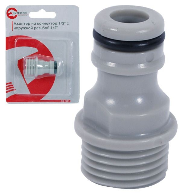 "Male adaptor 1/2"" INTERTOOL GE-1001"