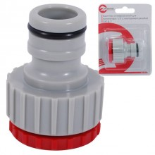 "3/4""&1"" tap adaptor with big adaptor INTERTOOL GE-1012"