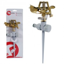 Metal impulse sprinkler with zink spike INTERTOOL GE-0052