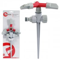 Three arm sprinkler with metal spike INTERTOOL GE-0055