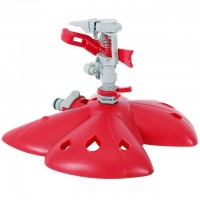 "Plastic Impulse sprinkler, ""Butterfly"" base INTERTOOL GE-0071"