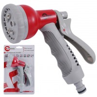 8-pattern plastic spray gun INTERTOOL GE-0001