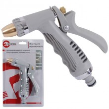 Adjustable metal spray gun chrome plated INTERTOOL GE-0013