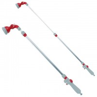 9-pattern telescopic water wand, 90-120 cm INTERTOOL GE-0043