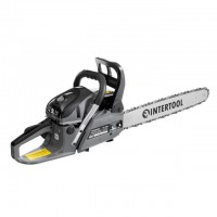 Gasoline chain saw 2.2 kW, 52 cc, 45 cm bar, 3200 rpm INTERTOOL DT-2208