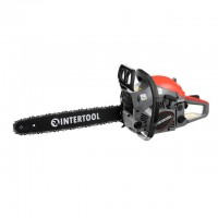 "Gasoline chain saw, 1,5 kW/2,0HP, 35 cm bar, 3/8 "" chain INTERTOOL DT-2209"