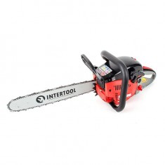 "Gasoline chain saw, 1,7 kW/2,4 HP, 40 cm bar, 3/8 ""chain INTERTOOL DT-2210: фото 3"