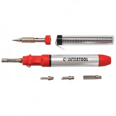 Micro-burner, 12ml with a set of accessories INTERTOOL GB-0005: фото 2