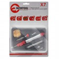 Micro-burner, 12ml with a set of accessories INTERTOOL GB-0005