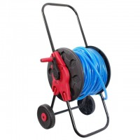"Hose cart, 1/2"" 60 m PP, steel, ABS INTERTOOL GE-3001"