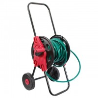"Hose cart, 1/2"" 45 m PP, steel, ABS INTERTOOL GE-3003"