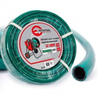 "Garden hose, 3 layers 1/2"", 30 m, PVC, reinforced INTERTOOL GE-4025"