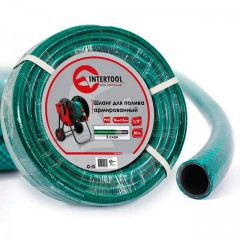 "Garden hose, 3 layers 1/2"", 50 m, PVC, reinforced INTERTOOL GE-4026"