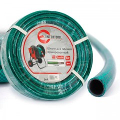 "Garden hose, 3 layers 3/4"", 20 m, PVC, reinforced INTERTOOL GE-4043"