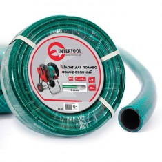 "Garden hose, 3 layers 3/4"", 30 m, PVC, reinforced INTERTOOL GE-4045"