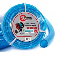"Water hose 3 layers 1/2"", 20 m, PVC, reinforced INTERTOOL GE-4053"