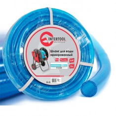 "Water hose 3 layers 3/4"", 10 m, PVC, reinforced INTERTOOL GE-4071"