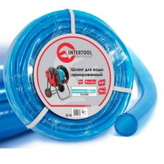 "Water hose 3 layers 3/4"", 100 m, PVC, reinforced INTERTOOL GE-4077"
