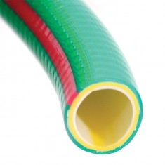 "Water hose 4 layers 1/2"", 100 m, PVC, reinforced INTERTOOL GE-4107: фото 2"