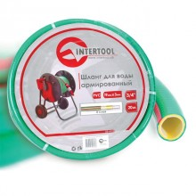"Water hose 4 layers 3/4"", 20 m, PVC, reinforced INTERTOOL GE-4123"