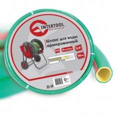 "Water hose 4 layers 3/4"", 100 m, PVC, reinforced INTERTOOL GE-4127"