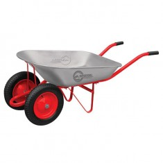 "Wheel barrow 65L, 140KG, 2 airwheels with bearings 14"" INTERTOOL WB-0623"