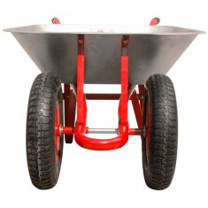 "Wheel barrow 65L, 140KG, 2 airwheels with bearings 14"" INTERTOOL WB-0623: фото 3"
