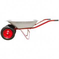 "Wheel barrow 65L, 140KG, 2 airwheels with bearings 14"" INTERTOOL WB-0623: фото 4"
