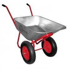 "Wheel barrow 65L, 160KG, 2 airwheels with bearings 14"" INTERTOOL WB-0625"