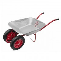 "Wheel barrow 85L, 150KG, 2 airwheels with bearings 15"" INTERTOOL WB-0823"