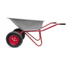 "Wheel barrow 85L, 160KG, 2 airwheels with bearings 15"" INTERTOOL WB-0825: фото 4"
