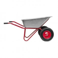 "Wheel barrow 85L, 160KG, 2 airwheels with bearings 15"" INTERTOOL WB-0825: фото 8"