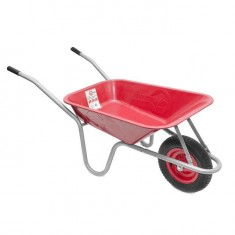 "Wheel barrow 65L, 130KG, 1 airwheel with bearing 14"" INTERTOOL WB-0613"
