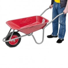 "Wheel barrow 65L, 130KG, 1 airwheel with bearing 14"" INTERTOOL WB-0613: фото 2"