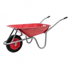 "Wheel barrow 65L, 130KG, 1 airwheel with bearing 14"" INTERTOOL WB-0613: фото 3"