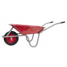 "Wheel barrow 65L, 130KG, 1 airwheel with bearing 14"" INTERTOOL WB-0613: фото 4"