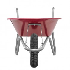 "Wheel barrow 65L, 130KG, 1 airwheel with bearing 14"" INTERTOOL WB-0613: фото 6"