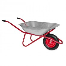 "Wheel barrow, 65L, 150KG, 1 airwheel with bearing 14"" INTERTOOL WB-0615"