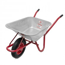 "Wheel barrow 85L, 150KG, 1 airwheel with bearing 15"" INTERTOOL WB-0813"