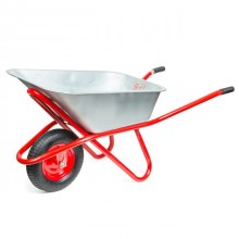 "Wheel barrow 85L, 150KG, 1 airwheel with bearing 15"" INTERTOOL WB-0815"