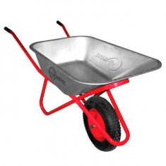 "Wheel barrow 100L, 180KG, 1 airwheel with bearing 15"" INTERTOOL WB-1015"