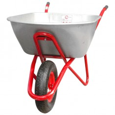 "Wheel barrow 100L, 180KG, 1 airwheel with bearing 15"" INTERTOOL WB-1015: фото 2"