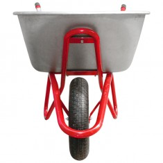 "Wheel barrow 100L, 180KG, 1 airwheel with bearing 15"" INTERTOOL WB-1015: фото 3"